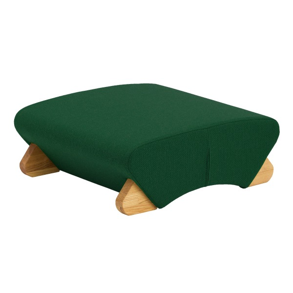納得の機能 デザインフロアチェア 座椅子 デザイン座椅子 脚:クリア WAS-F モナディー Mona.Dee 布:ダークグリーン 物品 爆買い新作