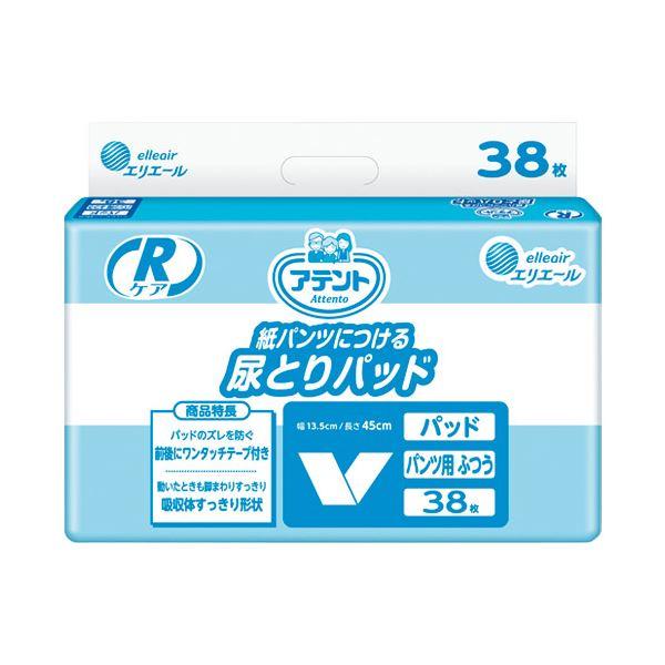 【送料無料】(業務用10セット) 大王製紙 アテントRケア尿とりパッドふつう38枚業務