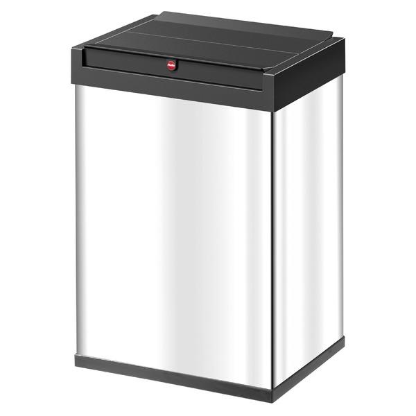 Hailo(ハイロ)ニュービッグボックス40L ステンレス(ゴミ箱・ダストBOX)60084