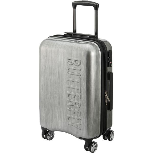 【送料無料】バタフライ(Butterfly) 卓球キャリングケース メロワ・スーツケース 62790 シルバー