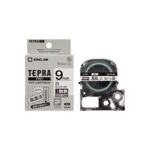 【送料無料】(業務用30セット) キングジム テプラ PROテープ/ラベルライター用テープ 【耐熱ラベル/幅:9mm】 長さ2m SN9K