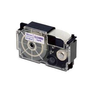 【送料無料】(業務用30セット) カシオ CASIO クリーニングテープ XR-18CLE 18mm