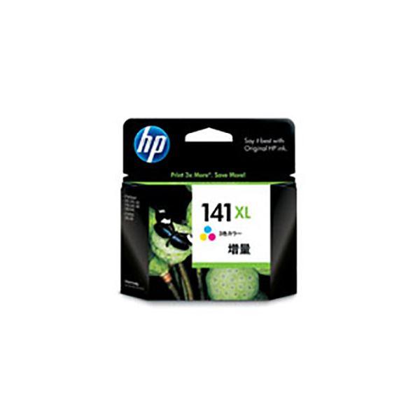 【送料無料】(業務用3セット) 【純正品】 HP プリントカートリッジ 【CB338HJ HP141XL カラー】 インクカートリッジ トナーカートリッジ
