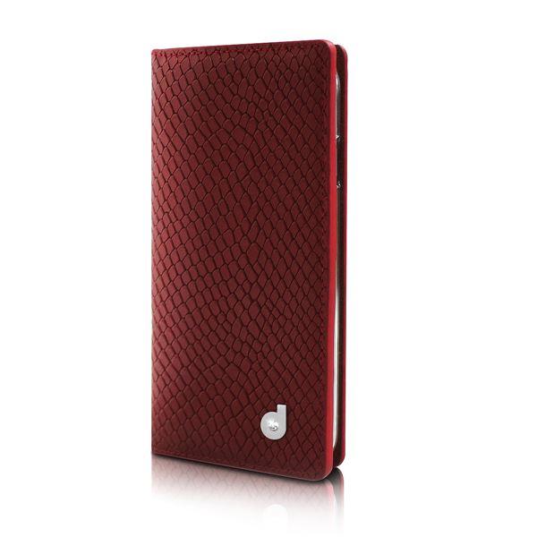 【送料無料】dreamplus iPhone6 シークレットポケットお財布ダイアリーケース レッド