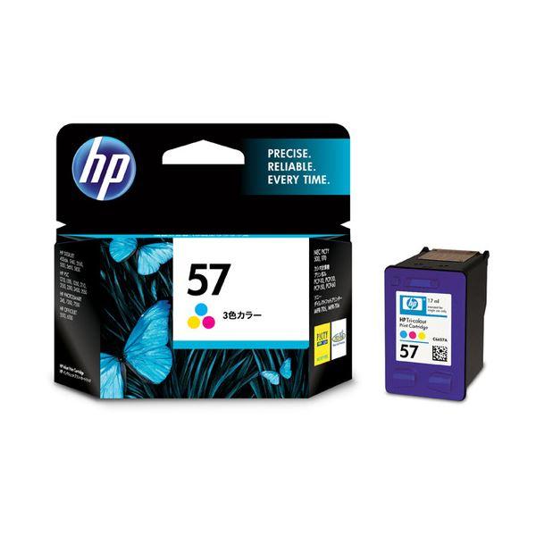 【送料無料】(まとめ) HP57 プリントカートリッジ カラー C6657AA#003 1個 【×3セット】