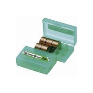 【送料無料】(業務用200セット) オープン工業 コインケース M-10W 10円用 収納100枚