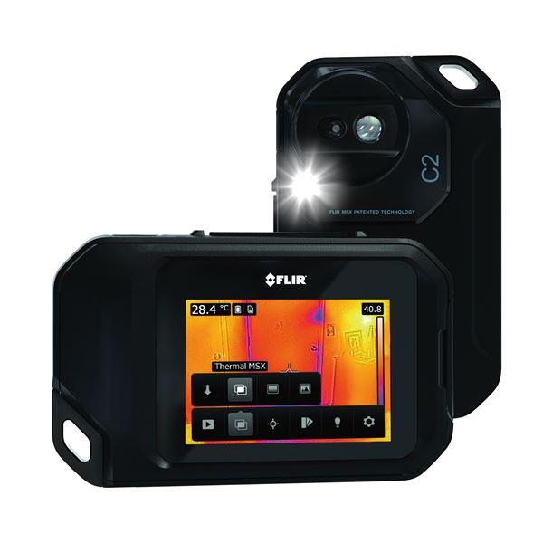 【送料無料】赤外線サーモグラフィー(熱画像装置) コンパクト/ポケットサイズ スーパーファインコントラスト搭載 フリアーC2