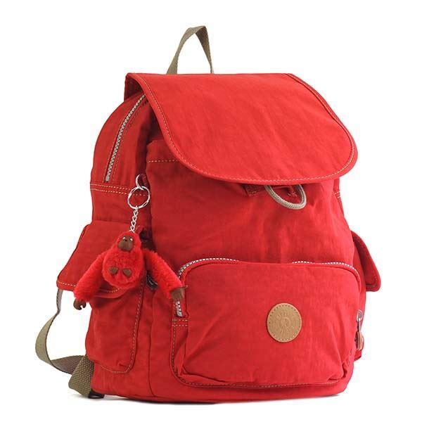 【送料無料】Kipling(キプリング) バックパック K15635 88Z TRUE RED C