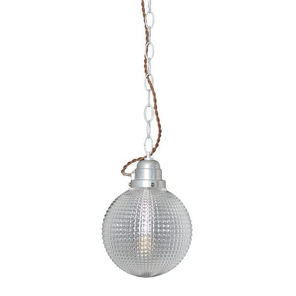 ペンダントライト/照明器具 【1灯】 ガラス/スチール製 ELUX(エルックス) GALU-1:Sphere 【電球別売】【代引不可】