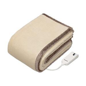 【送料無料】パナソニック(家電) 電気かけしき毛布 シングルMサイズ (ベージュ)
