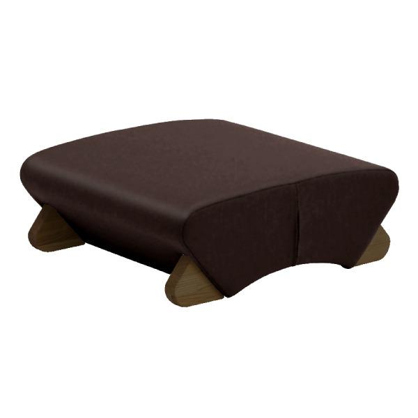 【送料無料】デザイン座椅子 脚:ダーク/ビニールレザー:ブラック 【Mona.Dee モナディー】WAS-F