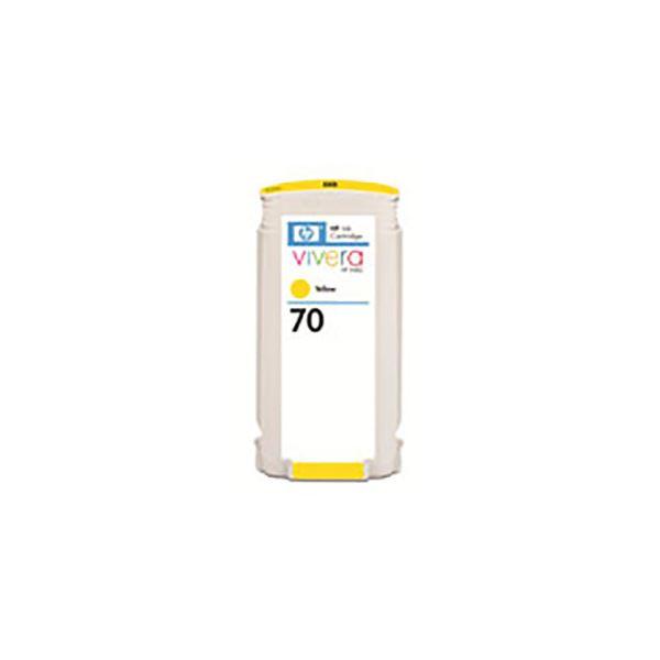 【送料無料】(業務用3セット) 【純正品】 HP インクカートリッジ 【C9454A HP70 Y イエロー】