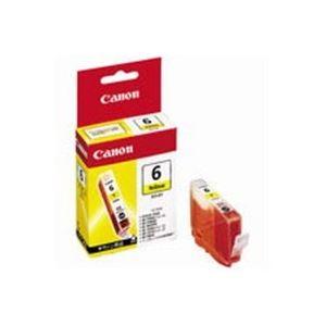 (業務用50セット) Canon キヤノン インクカートリッジ 純正 【BCI-6Y】 イエロー(黄)