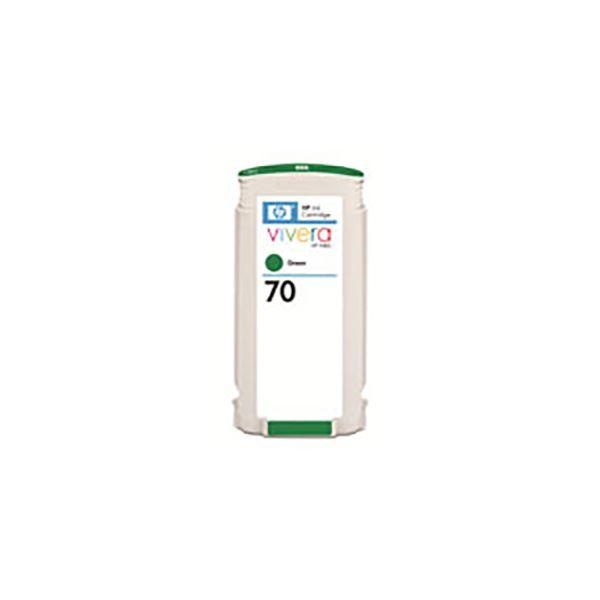 【送料無料】(業務用3セット) 【純正品】 HP インクカートリッジ 【C9457A HP70 グリーン】