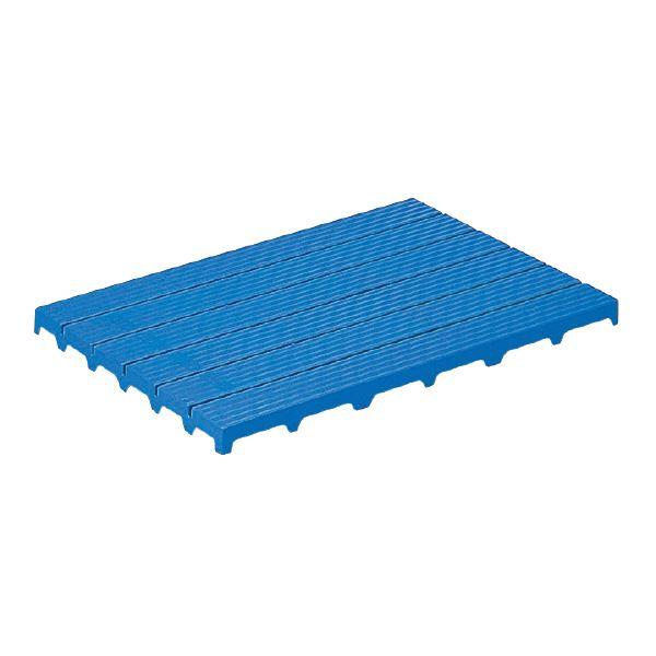 【送料無料】(業務用4個セット)三甲(サンコー) サンスノコ(すのこ板/敷き板) 897mm×593mm 樹脂製 #960 ブルー(青) 【代引不可】