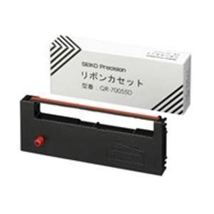 【送料無料】(業務用10セット) SEIKO(セイコー) リボンカセット QR-70055D