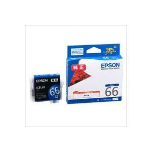 【送料無料】(業務用40セット) EPSON エプソン インクカートリッジ 純正 【ICBL66】 ブルー(青)