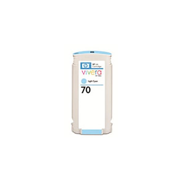 【送料無料】(業務用3セット) 【純正品】 HP インクカートリッジ 【C9390A HP70 LC ライトシアン】