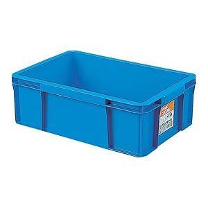 【送料無料】【20セット】 ホームコンテナー/コンテナボックス 【HC-13B】 ブルー 材質:PP 〔汎用 道具箱 DIY用品 工具箱〕【代引不可】