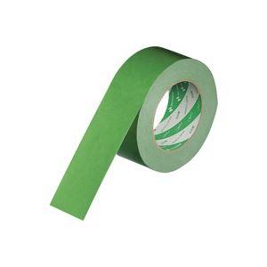 【送料無料】(業務用100セット) ニチバン ハイクラフトテープ 320WC-50 50mm×50m 緑