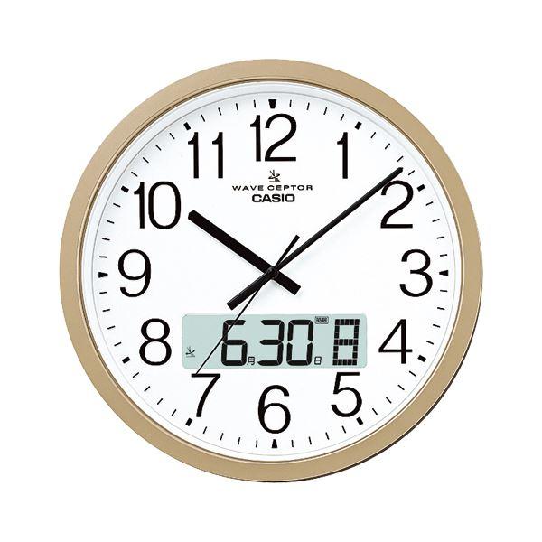【送料無料】カシオ 電波クロック 掛時計 IC-4100J-9JF