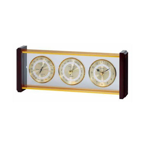 【送料無料】EMPEX スーパーEX スーパーEX EX-743 気象計・時計 EX-743 ゴールド ゴールド, オーガニックシルバー:3f2eaa40 --- sunward.msk.ru