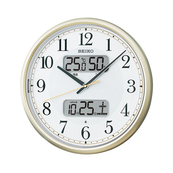 【送料無料】セイコークロック セイコー 電波掛時計 KX384S