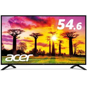【送料無料】Acer 54.6型ワイド液晶ディスプレイ EB550Kbmiiipx(IPS/半光沢/3840x2160/4K/16:9/300cd/m2/100000000:1/4ms/ブラック/HDMI(HDCP2.2対応)/ミニD-Sub15ピン/DisplayPort)