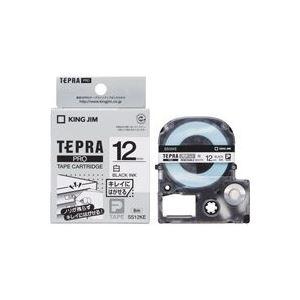 【送料無料】(業務用50セット) キングジム テプラ PROテープ/ラベルライター用テープ 【再剥離/幅:12mm】 SS12KE ホワイト(白)