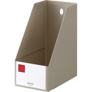 【送料無料】(業務用100セット) キングジム Gボックス/ファイルボックス 【A4/タテ型】 PP製 幅155mm 4655 グレー