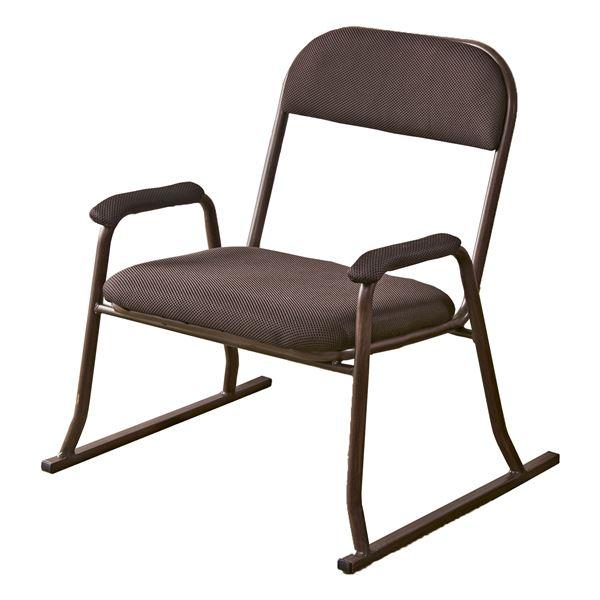 【送料無料】【2脚セット】木目調コンパクト高座椅子 YS-1200【代引不可】