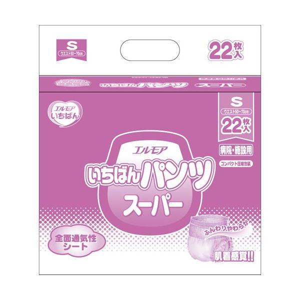 【送料無料】カミ商事 いちばんパンツスーパーS22枚×6P