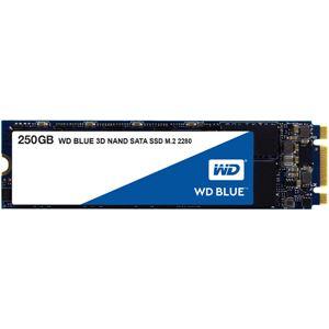 【送料無料】WESTERN DIGITAL(SSD) WD Blue 3D NANDシリーズ SSD 250GB SATA 6Gb/s M.2 2280国内正規代理店品
