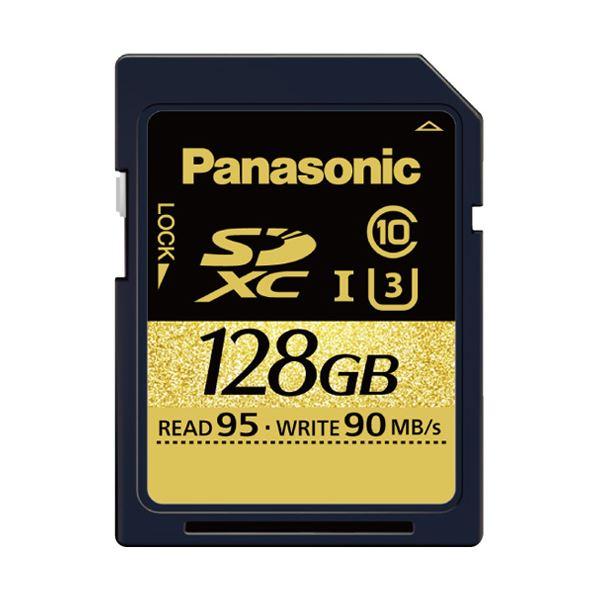 パナソニック(家電) 128GB SDXC UHS-I メモリーカード RP-SDUC128JK