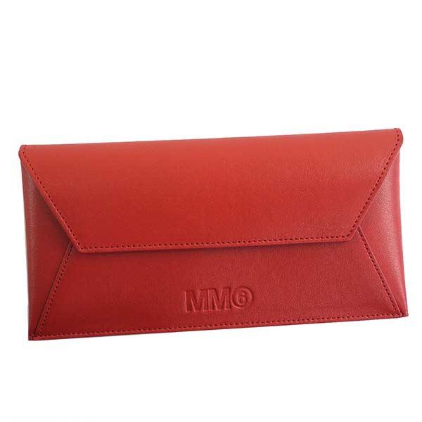 【送料無料】MM6 MAISON MARGIELA(エムエム 6 メゾン マルジェラ) ポーチ S54UI0054 303 RED