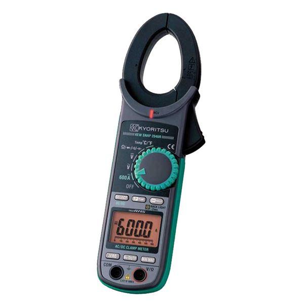 【送料無料】共立電気計器 キュースナップ・AC/DC電流測定用クランプメータ 2046R【代引不可】