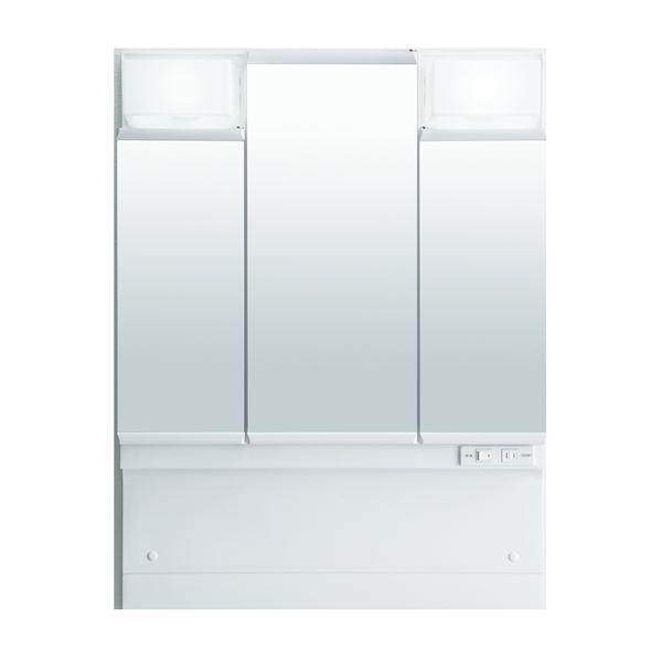 【送料無料】LIXIL INAX (リクシル イナックス) J1シリーズ ミラーキャビネット三面鏡全収納タイプ MD7X1-753TYPU