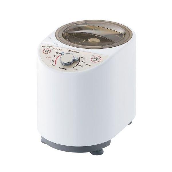 【送料無料】ツインバード コンパクト精米器 精米御膳 ホワイト MR-E500W