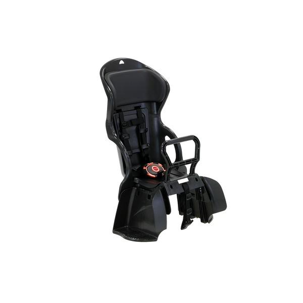【送料無料】ヘッドレスト付き後ろ用子供乗せ(自転車用チャイルドシート) 【OGK】RBC-015DX ブラック(黒)/ブラック(黒)【代引不可】