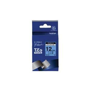 【送料無料】(業務用30セット) brother ブラザー工業 文字テープ/ラベルプリンター用テープ 【幅:12mm】 TZe-531 青に黒文字
