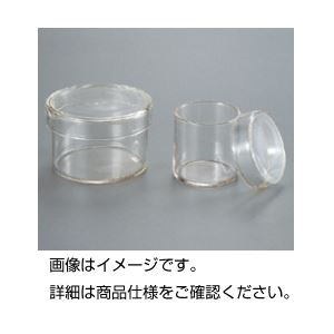 (まとめ)腰高シャーレ ガラス製 60φ×60mm 【×10セット】
