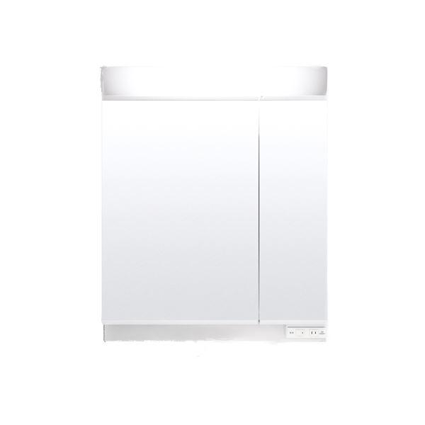 【送料無料】LIXIL INAX (リクシル イナックス) K1シリーズ ミラーキャビネット二面鏡袖収納タイプ MK1X2-752XUR