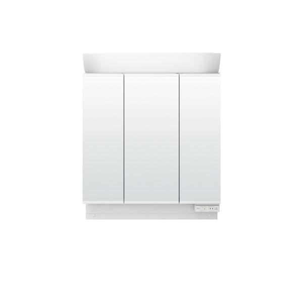 【送料無料】LIXIL INAX (リクシル イナックス) K1シリーズ ミラーキャビネット三面鏡全収納タイプ MK1X2-753TXU