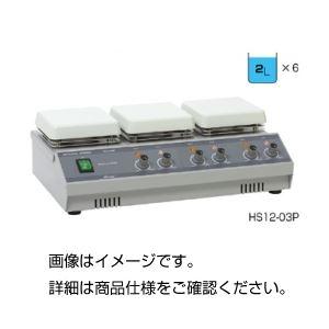 【送料無料】多連式ホットプレートスターラー HS12-03P