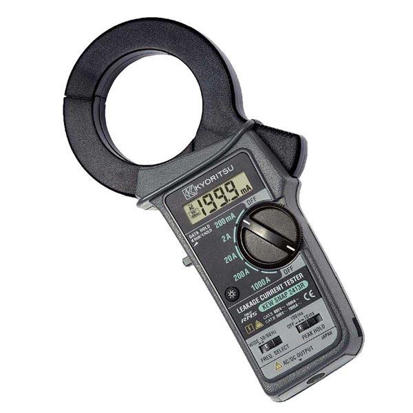 共立電気計器 キュースナップ・漏れ電流・負荷電流測定用クランプメータ 2413R【代引不可】