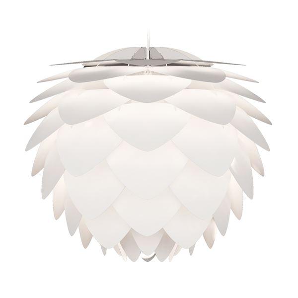【送料無料】ペンダントライト/照明器具 【1灯】 北欧 ELUX(エルックス) VITA Silvia ホワイトコード 【電球別売】【代引不可】