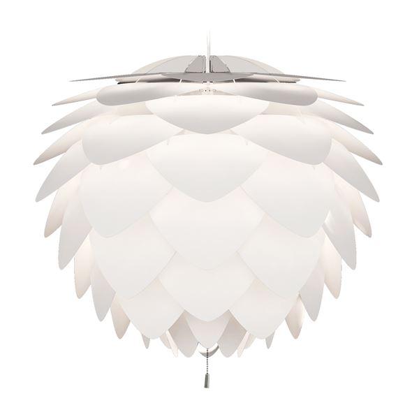 ペンダントライト/照明器具 【3灯】 北欧 ELUX(エルックス) VITA Silvia ホワイト(白)×ホワイトコード 【電球別売】【代引不可】