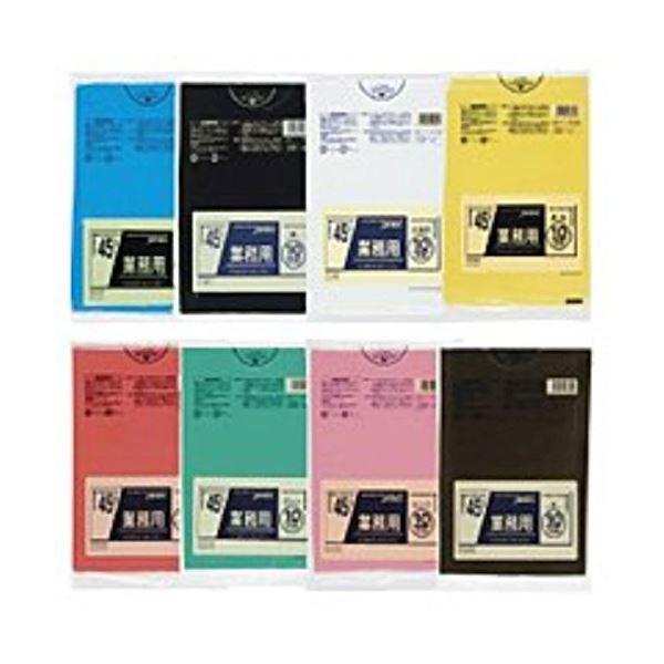 【送料無料】業務用45L 10枚入03LLD黄 CY45 【(60袋×5ケース)合計300袋セット】 38-289