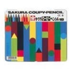 【送料無料】(業務用30セット) サクラクレパス クーピーペンシル FY18 18色 缶入