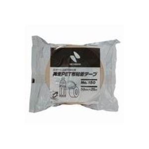 (業務用100セット) ニチバン 再生PET布粘着テープ 150-50 50mm×25m